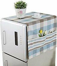 Kühlschrank / Waschmaschine Schutz Staubige Abdeckung Kühlschrank Handtuch