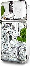 Kühlschrankaufkleber selbstklebend mehrere