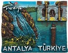 Kühlschrankmagnet Antalya Türkei 3D Harz