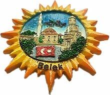 Kühlschrankmagnet Belek Türkei 3D Harz