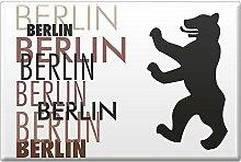 Kühlschrankmagnet - Berlin - Gr. ca. 8 x 5,5 cm -