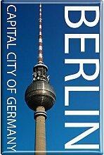 Kühlschrankmagnet - Capital Berlin - Gr. ca. 8 x