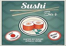 Kühlschrankmagnet Essen Restaurant Sushi Bar