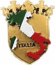 Kühlschrankmagnet Flagge Italien 3D Harz