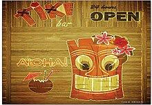 Kühlschrankmagnet Fun Tiki Bar