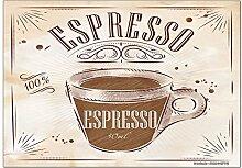 Kühlschrankmagnet Kaffee Cafe Bar Espresso