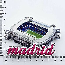 Kühlschrankmagnet Madrid Spanien 3D Harz