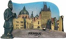 Kühlschrankmagnet Prag Tschechische 3D Harz