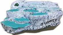 Kühlschrankmagnet, Türkei, Ägäis, Harz, 3D,