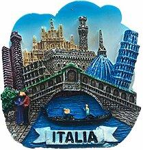 Kühlschrankmagnet Venedig Italien 3D Harz