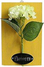 Künstlerische Dekoration Künstliche Pflanze Ornamente Räume Wanddekoration, hellgrün