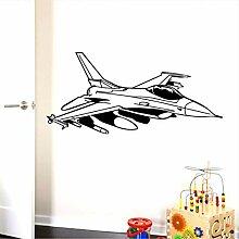 Künstlerische Flugzeuge Umweltschutz Vinyl
