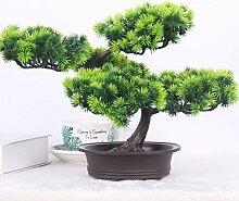 Künstlich Bonsai Baum, Künstlich Simulation