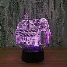 Künstlich Mit Led Lights Diy Usb Led 3d Lampe