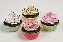 Künstliche–, Torten, Cup Cakes künstlichen X4Lebensmittel Dummy Falsche Nahrung