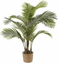 Künstliche Areca-Palme im Topf