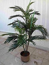 künstliche Arecapalme 120cm.