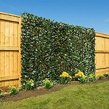 Künstliche Blatt-Hecke-Siebung Garten Expanding