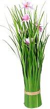 Künstliche blühende Cosmea-Blume als Bund grün