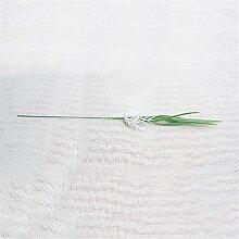 künstliche Blume Pflanzen Simulation Sprossen Simulation Clover grüne Sprossen Mungobohnen Sämlinge kleiner Blumentopf Blumen Zubehör Kunstblumen Person 1 Bündel * 10, Sämling