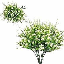 Künstliche Blumen,6Pcs plastikblumen künstlich