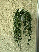 künstliche Blumen Ampel Buchshänger 55cm