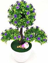 Künstliche Blumen Bonsai-Set gefälschter Blume