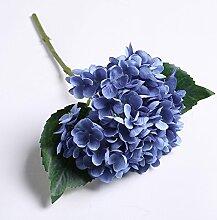 Künstliche Blumen Home Ausstattung Schlafzimmer Blumen Hochzeit Dekoration Mit Blumen, Deep Blue