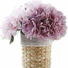 Künstliche Blumen Pfingstrose Brautstrauß