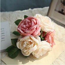 Künstliche Blumen-Pfingstrose für Hochzeitsdekor