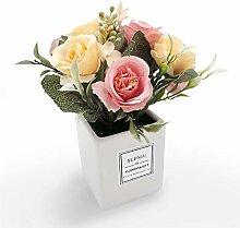 Künstliche Blumen, Rosen mit quadratischer