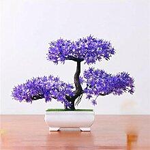 Künstliche Blumen-Simulation Begrüßen Kiefer Topf (sehr viel Farbe) Wohnzimmer Home Kreative Dekorationen Büro , F