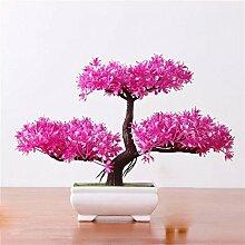 Künstliche Blumen-Simulation Begrüßen Kiefer Topf (sehr viel Farbe) Wohnzimmer Home Kreative Dekorationen Büro , E
