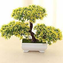 Künstliche Blumen-Simulation Begrüßen Kiefer Topf (sehr viel Farbe) Wohnzimmer Home Kreative Dekorationen Büro , C