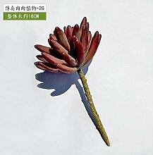 Künstliche Blumen Simulation Voll von Kleinen Blumen Pflanze Kombination Topf Hand Diy Mikro - Landschaft Garten Blumentöpfe Grün Pflanze Zubehör, B