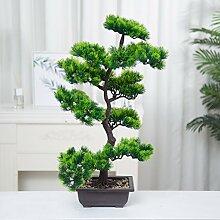Künstliche Bonsai Baum Pflanze für Büro Zuhause