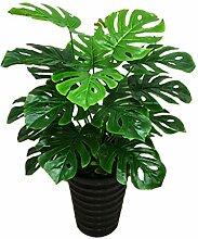 Künstliche Bonsai Pflanzen Bodenstehende Topf