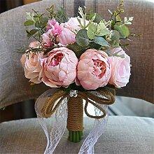 Künstliche Brautsträuße Hochzeit Bouquet
