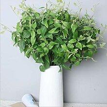 Künstliche dekorative Blumen Clematis Blatt
