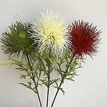 Künstliche dekorative Blumen Simulation cheveux