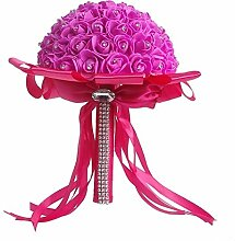 Künstliche dekorative Blumen WSRUXXN Brautstrauß