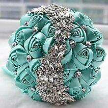 Künstliche dekorative Blumen WSRUXXN Hochzeit,