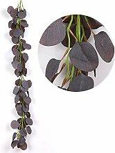 Künstliche efeu blätter girlande eukalyptus
