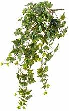 Künstliche Efeu Ranke mit 190 Blättern, grün, 85 cm - Kunst Efeu / Künstliche Ranke - artplants
