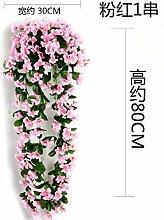Künstliche Fake Blumen Dekoration Esstisch Home Zubehör Decke Flansch Orchid Wand nehmen Sie einen Stock Rosa ein Single-String -Ktfactory