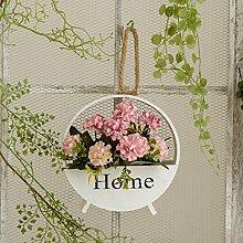 Künstliche Fake Blumen Dekoration Esstisch Home Zubehör Rose Kit Seide Blume Rosa -Ktfactory