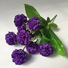 Künstliche Gänseblümchen-Blumen sondern