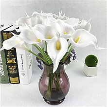 Künstliche gefälschte Blumen, echte Berührung