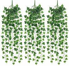 Künstliche Hängepflanzen, Efeu, künstliche
