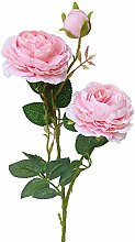 Künstliche künstliche künstliche Rosenblüten